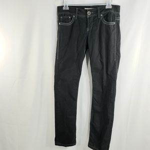 BKE Casuals NWOT Mollie Skinny Jeans Black Size 28